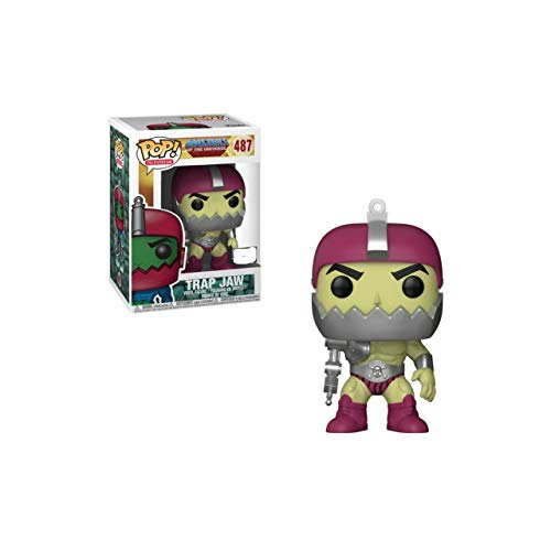Funko POP! Television : Masters of The Universe – Trap Jaw Metallic – Vinyl Figur 9cm