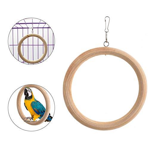 Vogel speelgoed, kooi hangmat schommel speelgoed huisdier vogel opknoping nesten kauwen speelgoed voor papegaaienvink