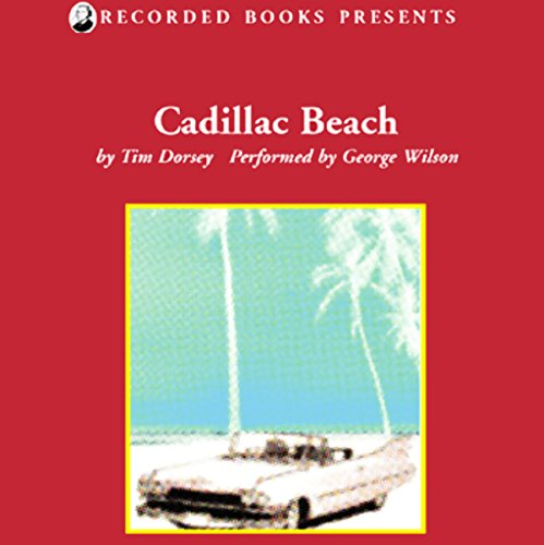Cadillac Beach audiobook cover art