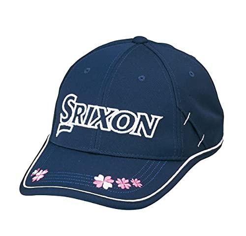 【レディース】ダンロップ スリクソン ゴルフキャップ SWH0152 レディスキャップ【ネイビー】 Free Size