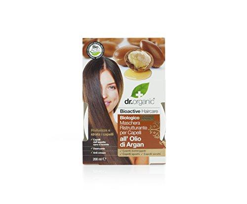 Dr. Organic Argan Hair Treatment Après-shampoing 200 ml