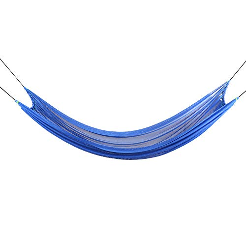 Leftwei Sturdy Double Hammock, Professional Manufacture Outdoor Hammock, Backpackers for Camping(blue)