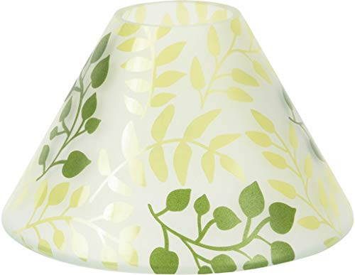 Pavilion Gift Company 99093 Green Fern Large Candle Shade