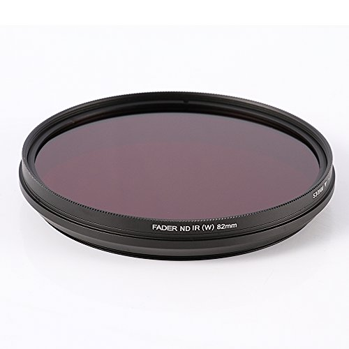 Ruili 62mm Six in One Adjustable Infrared IR Pass X Ray Lens Filter 530nm to 750nm Screw in Filter for Canon Nikon Sony Panasonic Fuji Kodak DSLR Camera