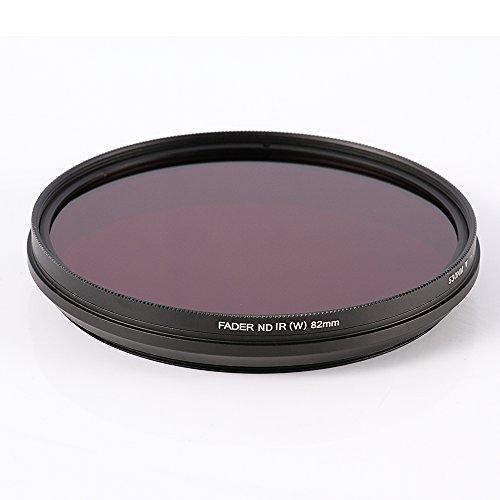 Ruili Einstellbar Infrarot Pass Linse Filter 72mm, 530nm to 750nm,650nm,680nm,720nm,72mm Kamera Filter