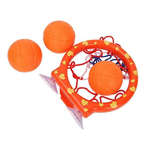 Keenso Aro de Baloncesto, Juguetes de baño Aro de Baloncesto y Pelotas Set de Regalo para niños y niños pequeños