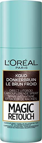 Loreal Magic Retouch Koel Donker Bruin Spray, 75 ml