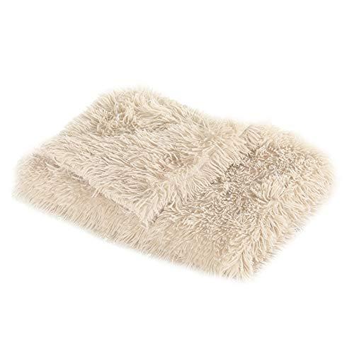 DALADA Manta para perros y gatos, suave forro polar, lavable, para mascotas, perros, gatos, cachorros, cama suave para perros
