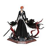 Grim Bleach Reaper Kurosaki Ichigo Gk Figura De Doble Cabeza Estatua PVC Figuras De Acción Colección Modelo Figura 30Cm