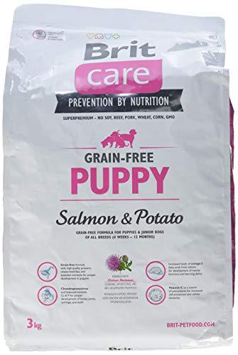Brit Care Puppy Salmone e Patate 3 Kg- Grain Free per cani cuccioli di tutte le taglie