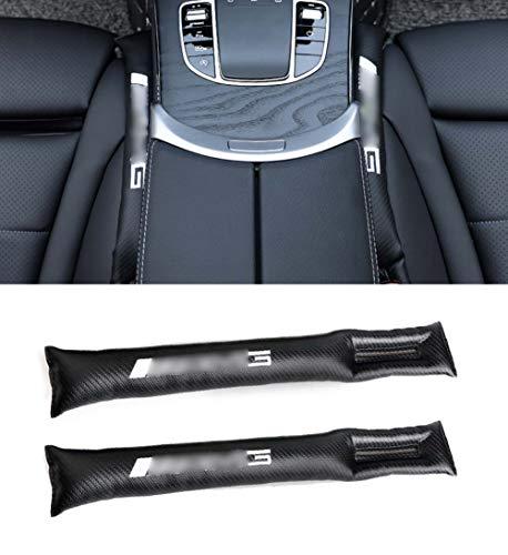 Xinshuo PU Leather Seat Gap Tappo di riempimento a tenuta Pad Slot per tappi per A Classe, B Classe, C Classe, E Classe, ML Classe, SLK Classe, Gla Classe, V Classe, A set di 2 pezzi