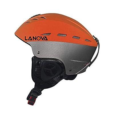 LANOVAGEAR Ski Helmet, Snowboard Helmet for Adult Youth Men Women ASTM Certified, Adjustable Snow Helmet