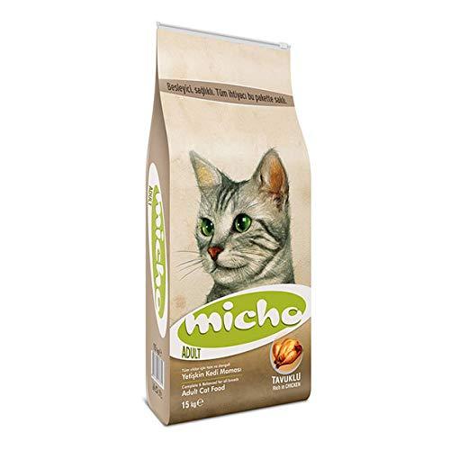 Micho Cat | Trockenfutter für Erwachsene Katzen | 15 Kg