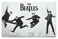 The Beatles JUMP カブトムシ メタルポスター壁画ショップ看板ショップ看板表示板金属板ブリキ看板情報防水装飾レストラン日本食料品店カフェ旅行用品誕生日新年クリスマスパーティーギフト