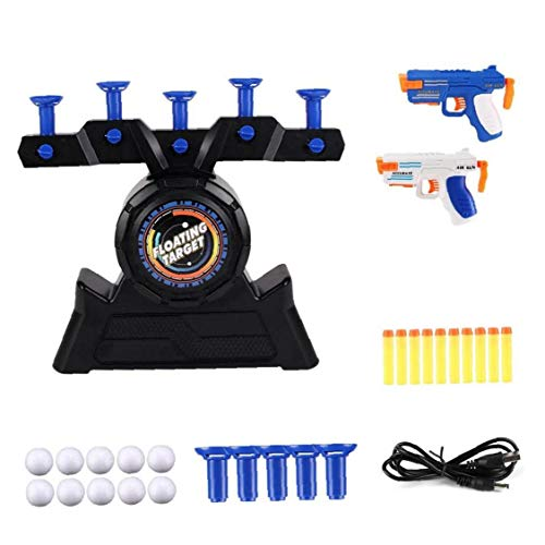 Target Practice Toys, Electric Hover Floating Shooting Game Toys Good Gifts for Kids Children Black Toy Gift