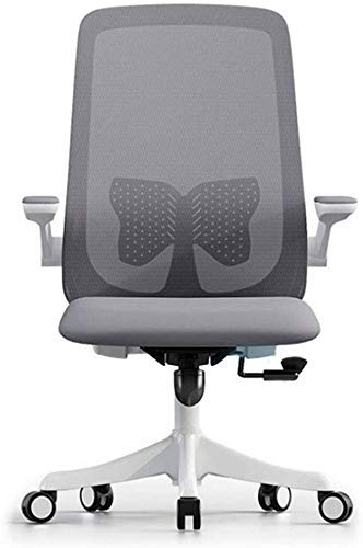 Office Chairs Ergonomic Desk Chair with Adjustable Height and Lumbar Support,High Back Mesh Computer Chair with Flip up Armrests for Conference Room-150kg Weight Capacity,Computer