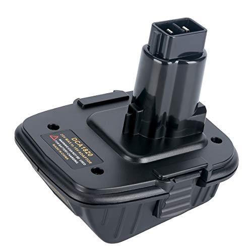 Epowon Battery Adapter DCA1820 for Dewalt 18V Tool, Convert Dewalt 20V Li-ion Battery DCB205 for Dewalt 18V NI-Cd&Ni-mh Battery Tools