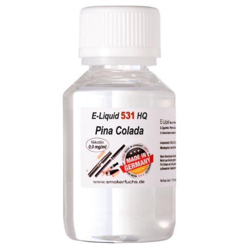 100ml E-Liquid No. 531 HQ Pina Colada 0,0 mg Nikotin