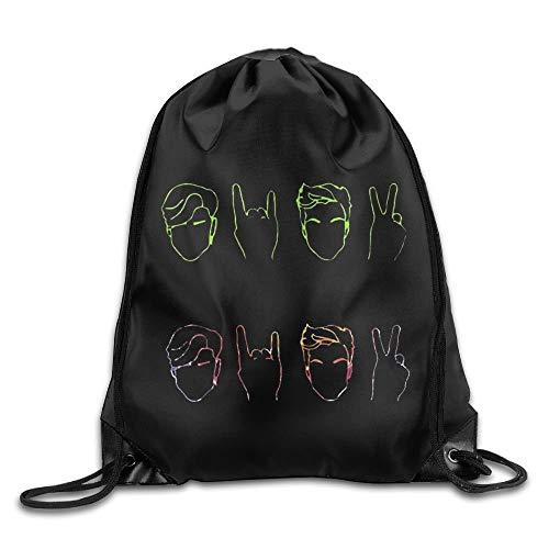 Dolan&Twins Logo Men & Women Drawstring Backpack