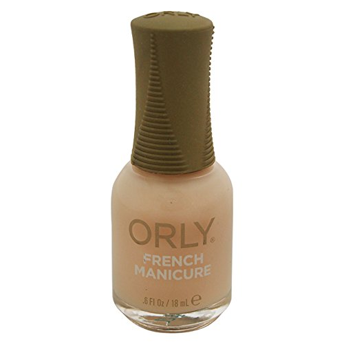 Orly Nail Lacquer, French Man Naked Ivory, 0.6 Fluid Ounce