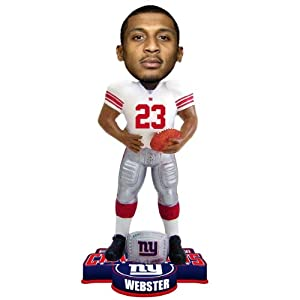 NFL New York Giants Super Bowl XLVI Champions Ring Bobble, C. Webster