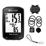 Bryton Rider 15 Neo C con Sensor de cadencia, Negro BR15NC