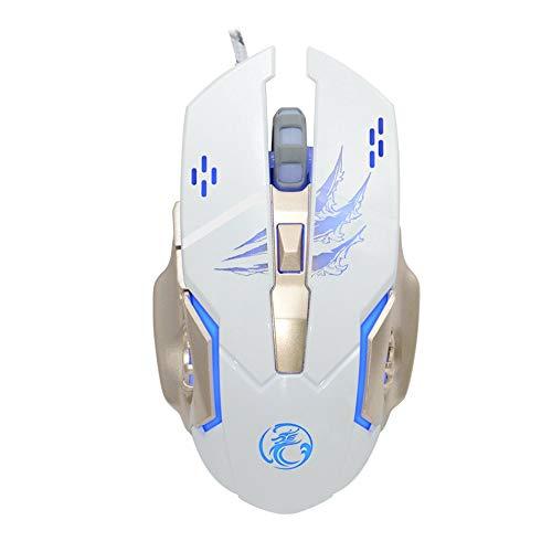 Silverdee Gaming Mouse Adjustable 3200DPI 6 Tasten Programm Optische PC Laptop Desktop-Spiel Mäuse