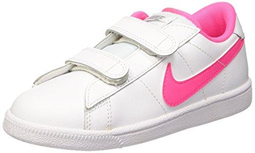 Nike Tennis Classic (PSV), Scarpe Bambina, Multicolore (White/Pink Pow-Wolf Grey), 35 EU