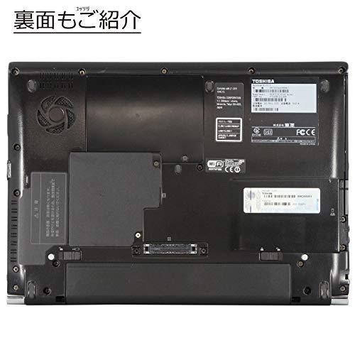 『中古パソコン Windows10 ノートPC 一年保証 東芝 dynabook R732/F Core i5 3320M 2.6(~最大3.3)GHz MEM:16GB(新品) SSD:240GB(新品) DVDマルチ 無線LAN:有り Win10Pro64Bit』の6枚目の画像