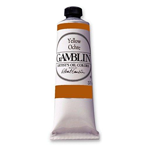 Artist Gamblin - pintura al óleo - 150 ml - colour ocre de colour amarillo