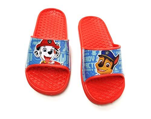 Paw - Badelatschen Sommer Hausschuhe Kinder Pantoletten Duschschuhe Badeschuhe rutschfeste Sandalen Pantoffeln Schlappen Slide Slippers Schuhe R (Numeric_30)