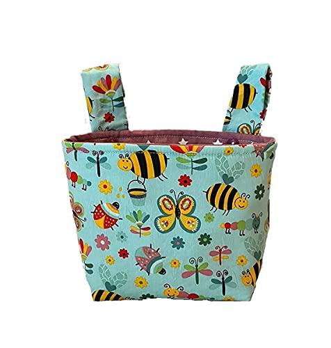 Lenkertasche - handgefertigt - Bees & Bugs für Kinder Laufrad oder Fahrrad