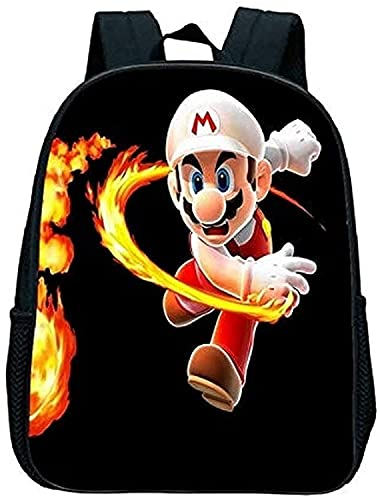 Mochila temática de Super Mario Bros, personalizable, única, adecuada para niños de 3 a 22 años, independientemente del sexo, 02, 13' (33cm),