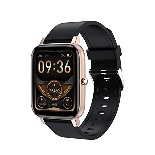 ZGNB H80 Smartwatch, 1.69 Pulgadas para Hombres, Rastreador De Fitness, Pulsera Deportiva, Reloj De Reloj A Prueba De Agua A Prueba De Agua, Adecuado para Relojes Inteligentes De iOS Android,A