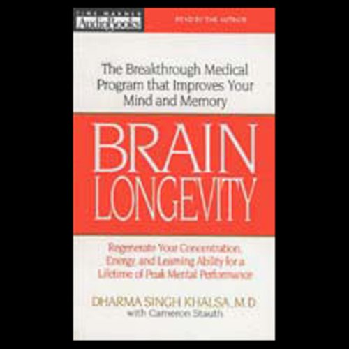 Brain Longevity audiobook cover art