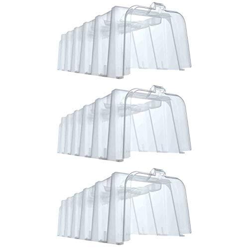 Garantia 645050 Sunny Pflanztunnel für die Aussaat, Kunststoff, 105 x 40 x 30cm (3 Stück)