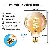 Immagine 1 led lampadina vintage edison g125sp
