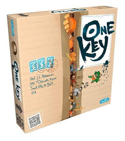 One Key FR/NL - Coöperatief spel - Speel om de verborgen sleutelkaart - Voor de hele Familie - Taal: Nederlands