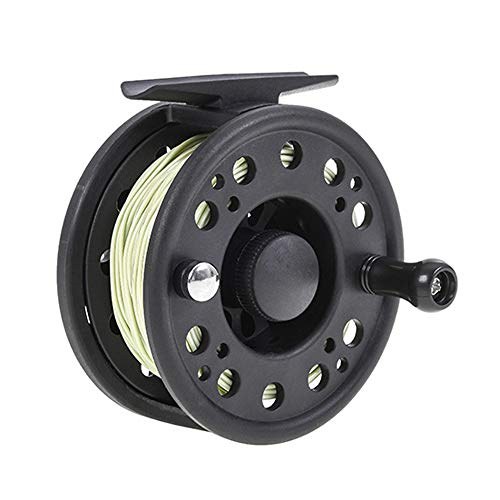 Fly Fishing Reel, GLA 7/8 5/6 Fly Fishing Reel with Line Left/Right Hand...