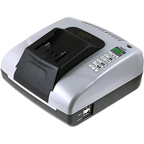 akku-net Lader met USB voor Slagmoersleutel Metabo SSD 18 LT/LTX, 14,4V-18V