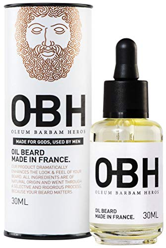 Huile à Barbe 100% Naturelle OBH | Soin...