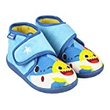 CERDÁ LIFES LITTLE MOMENTS 2300004561_T021-C56 Zapatillas de Casa Cerradas de Baby Shark - Licencia Oficial Nickelodeon, Azul, 21 para Niños