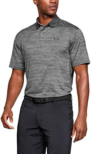 Under Armour Men s Performance 2 0 Golf Polo Steel 035 Black 3X Large product image