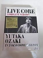 尾崎豊 LIVE CORE 完全版 YUTAKA OZAKI IN TOKYO DOME 1988912 Blu-ray Disc 歌手 シンガーソングライター