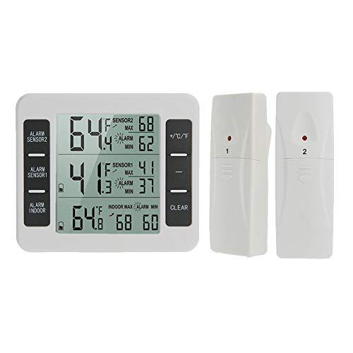 Ningb Temperatuur Sensor Gauge Koelkast Thermometer Draadloos voor Binnen Buiten