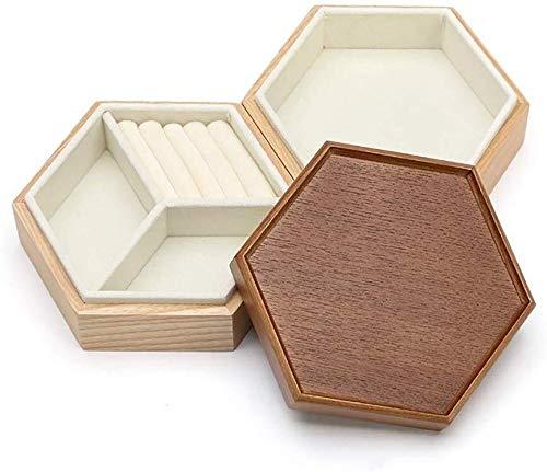 Jewelry Box Sieraden kast sieraden doos eenvoudige prinses multi-layer grote capaciteit sieraden doos oorbellen ketting met deksel thuis opbergdoos grote sieraden doos Women's sieraden opbergdoos