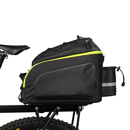 XNY Pannier Bolsa de Bicicletas Bicicleta Saddle Bag con Correa para el Hombro y la Cubierta de la Lluvia para la Bici del Camino de la montaña/BMX Bicicleta/Bici de la Motocicleta, etc 17L,A