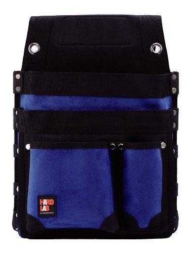 ハードラボ(HARD LAB) 仮枠釘袋 鋲止 マチ付 ネイビー HL-307N