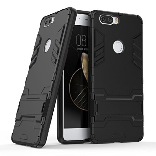 SCIMIN ZTE Nubia Z17 Case, ZTE Nubia Z17 Lite Hybrid Case, Dual Layer Protection Shockproof Hybrid Rugged Case Hard Shell Cover with Kickstand for 5.5'' ZTE Nubia Z17, ZTE Nubia Z17 Lite