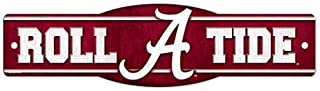 Outdoor Sport Alabama Crimson Tide Official NCAA 4 inch x 17 inch Plastic Street Sign by..